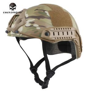 EMERSON Tactical FAST Helmet MH Type Hunting Bike Headwear Paintball Military