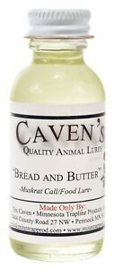 Caven#x27;s Bread and Butter Lure 4 oz. Bottle Muskrat Lure