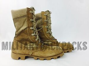 New McRae Military Warm Weather Combat Boots Hunting Size 5 Mens Women#x27;s