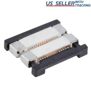 10X 8mm 2-pin Low Profile Solderless Coupler PCB Connector for 3528 120/m LED St