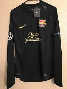 Barcelona Nike Player Issue Shirt Uefa Match Unworn MD Football Jersey