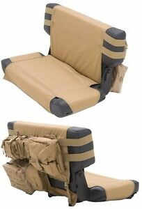 Smittybilt GEAR MOLLE Rear Seat Cover With Pouches For 76-06 Jeep CJ