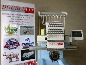 Commercial Embroidery Machine CompactNEW Single head 15 needles New Style