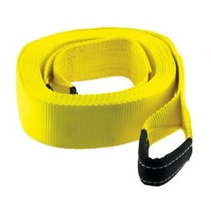 Smittybilt Double Stitched 40,000 lb. 4 Inch x 8 Foot Recovery Tow Strap CC408