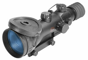 ATN ARES 4X-4 Gen 4 Night Vision Weapon Sight Rifle Scope 4X wIR NVWSARS440