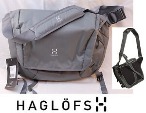 Haglofs Häglofs NODE Messenger Graphite Laptop Cycling Bike Courier Chest Strap