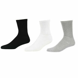 5~100 Dozens Wholesale Lots Mens Solid Sports Cotton Crew Socks Gift Cheap Xmas