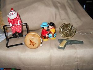 zee diecast metal army 45 pistol cap gun 4 other