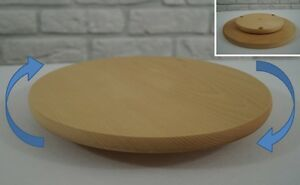 Rotary Board Round Wooden Chopping Board 30cm, pizza sushi cheese, set 1, 10, 30