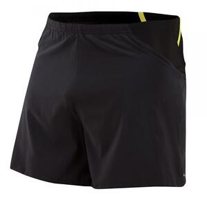 Pearl Izumi Run Men Fly Endurance Shorts Running Liner Pockets Black
