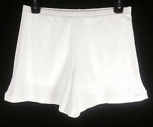Girls Size XL NIKE Shorts Fit Dry Athletic Polyester Compression Solid White
