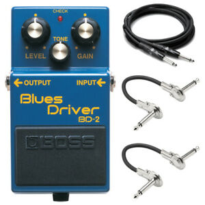 New Boss BD 2 Blues Driver Effect Pedal FREE Hosa Cables $99.99
