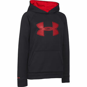 Boy's Under Armour Storm Armour Fleece Big Logo Hoodie