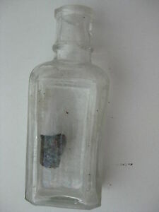 RARE EARLY SINGER SEWING MACHINE OIL BOTTLE $39.00
