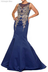 PROM DANCE LONG EVENING RED CARPET DRESSES MERMAID FORMAL DESIGNER PAGEANT GOWN