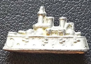 awesome antique 1900s toy steam navy ship