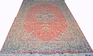 Beheshti Design Persian Rug Rare Color 9x12 feet Wool & Silk 50 Raj
