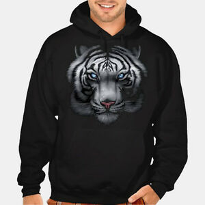 New White Tiger Hoodie sweatshirt hunting wildlife animal mma fighting 3D lion