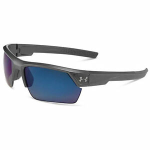 Under Armour UA Igniter 2.0 Storm Carbon Frame with Gray Polarized with Blue ML