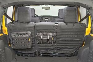 Smittybilt GEAR MOLLE Rear Seat Cover For 2007 & 13-18 4-Door Jeep Wrangler JK