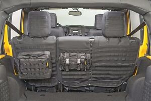 Smittybilt GEAR MOLLE Rear Seat Cover & Pouches For 08-12 4-Door Jeep Wrangler