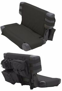 Smittybilt GEAR MOLLE Rear Seat Cover With 5 Pouches For 76-06 Jeep CJ/Wrangler