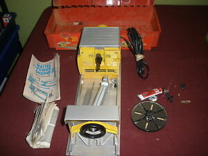 1965 mattel 4 in 1 power shop drill press sander