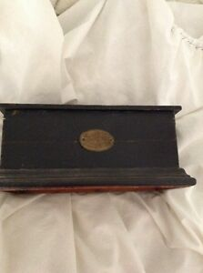 1873 box for toy dancer dated 9 23 1873