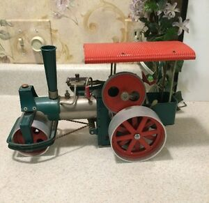 rare d365 toy steam engine roller germany old