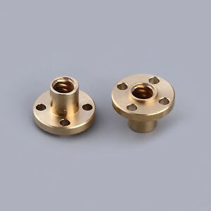 Brass Trapezoidal T8 Nut Stainless Steel Lead Screw  for 3D Printer wholesale