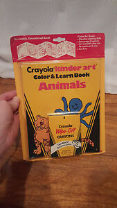 vintage crayola crayons by binney smith co