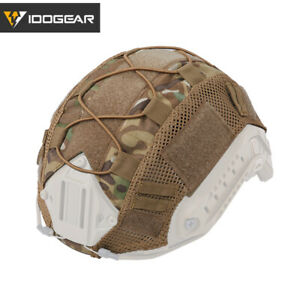 EMERSON Tactical FAST Helmet COVER Hunting Airsoft Gear Sports Headwear Camo