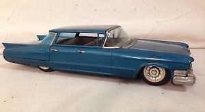 japan bandai tin friction cadillac