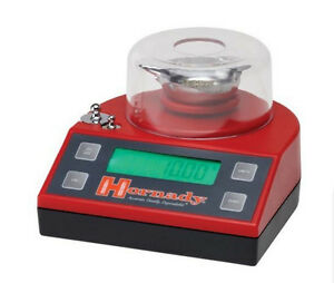 Hornady Electronic Bench Scale Ammo Reloading Powder 1500 Grain Weighing Scales