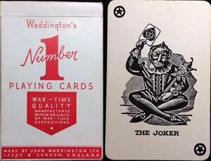 ww2 waddington number 1 war time 1st edition