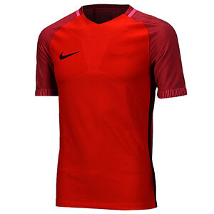 Nike 2016 Strike Top Training Shirts Soccer Football Jersey Red 725869-657