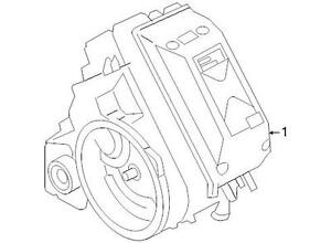 Ford OEM Hybrid Electric Motor and Trans Assembly 7M6Z7000A Image 1