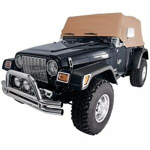 Smittybilt Spice Custom Fit Cab Climate Cover For 1992-2006 Jeep Wrangler YJ TJ