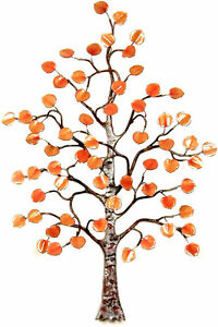 Aspen Tree Enameled Copper Wall Art Sculpture Small by Bovano of Cheshire W99