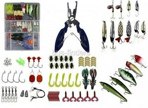 Fishing Lures For Freshwater Saltwater Kit Tackle Box Bait Accessories Mixed Set