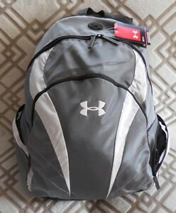 UNDER ARMOUR Men's UA Ignite Backpack Color GraphiteWhiteBlack NEW