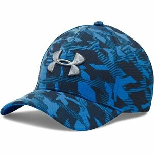 UNDER ARMOUR NEW Men's Stretch Fit Cap Blue Blitzing BNWT
