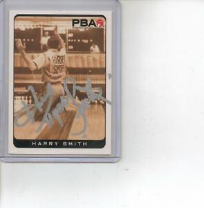 HARRY SMITH PBA Bowler Bowling Signed Autographed 2008 Rittenhouse Bowling Card