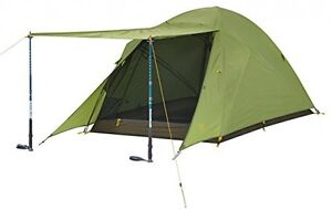 Slumberjack Daybreak 2 Person Outdoor Sporting Goods Camping Hiking Tents Green