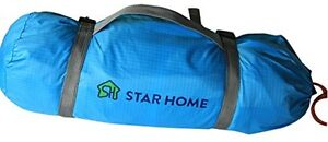 STAR HOME Double Layer 2 Person Outdoor Sporting Goods Camping Hiking Tents blue