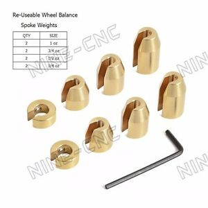 Motorcycle Wheel Balance Weights For Spoke BMW GS Wheels