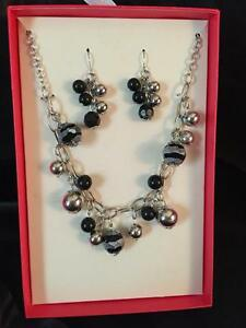 NECKLACE SET GLAMOUR GAL COSTUME JEWELRY WOMENS CD ADULT SISSY DRAG BDSM TV