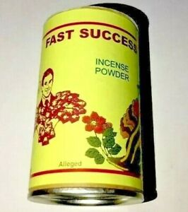 Fast Success Powder Incense In Container Incense HooDoo Wicca Dispense