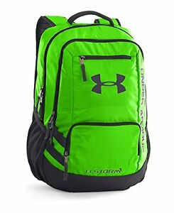 Under Armour Storm Hustle II Backpack Hyper Green 389 One Size