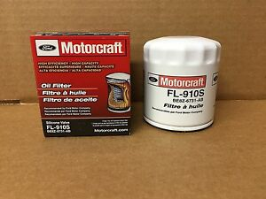 Genuine Motorcraft Professional Engine Oil Filter FL-910S BE8Z-6731-AB FREE SHIP